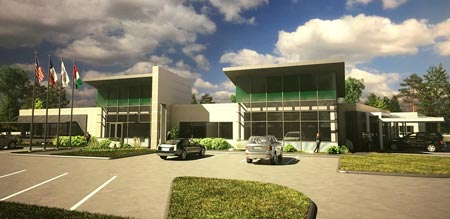 Global Shop Solutions new building rendering