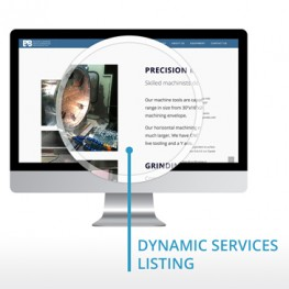 Websites for Manufacturers